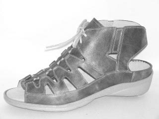 Durea Greenway Sandaletten G, Kalbleder schwarz