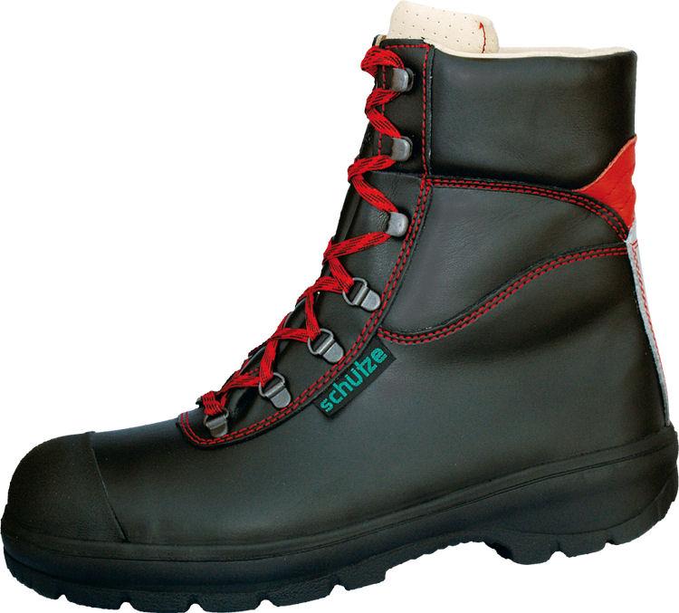 Sicherheitsschuhe 8513-1 EN345 S3, Rindleder schwarz, Lammellfuter warm