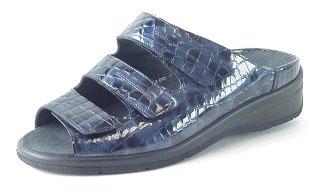 Durea Greenway Sandaletten G, Krokolack blau